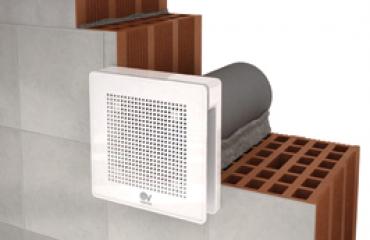 Exkluzívny ventilátor pre kúpeľne a malé miestnosti PUNTO EVO
