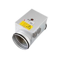Potrubný el. dohrev, d125mm, 900W, externé ovládanie 0-10V