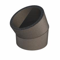 Pripojovacie izolované koleno 30° DN180