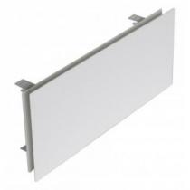 Prívodný/odvodný stenový difúzor plochy, biely