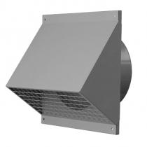 Ventilačná výustka stenová pre prívod/odvod vzduchu s protidažďovým krytom.